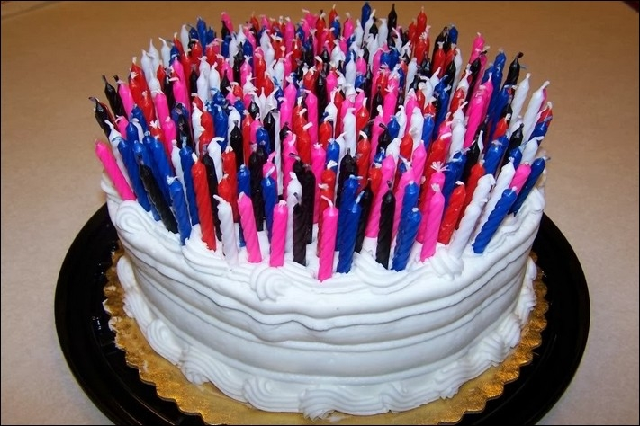 Of Candles Art Lots Cake Birthday Clip With Free